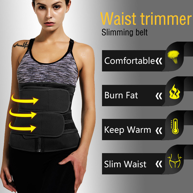 Women Waist Trainer Neoprene Belt Weight Loss Cincher Body Shaper Tummy Control Strap Slimming Sweat Fat Burning Girdle 1