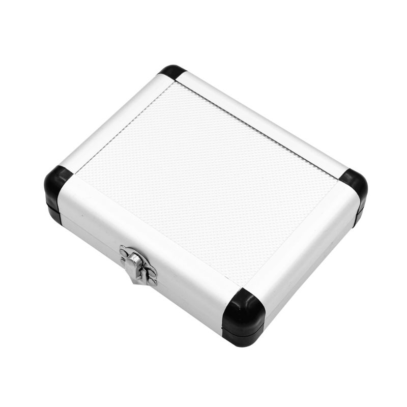 Купить с кэшбэком HSS 5PCS Titanium Step Drill Bit Set with Automatic Center Punch, 50 Sizes in 5 High Speed Steel Drill Bits Set  Aluminum Case