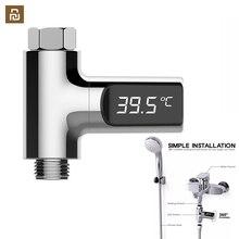 Youpin LED ekran ev su duş termometre akış kendinden üreten elektrik su sıcaklık ölçer monitör bebek