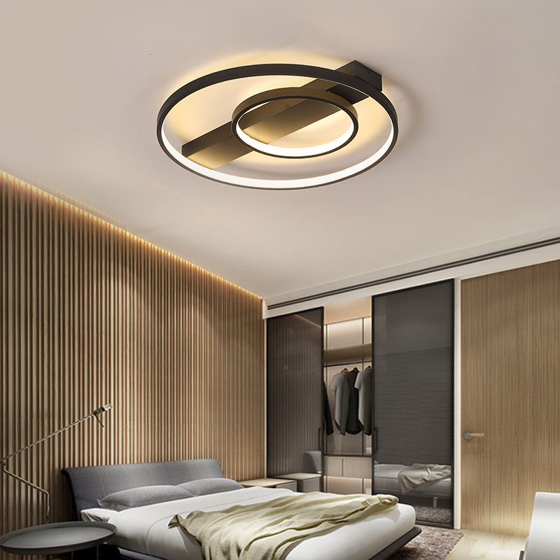 Modern Led Chandeliers Round Circle