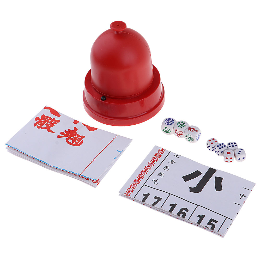 Классический набор для азартных игр Sic Bo + Fish с креветочками и автоматическим кубком для игральных костей