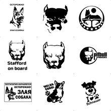 Drop Shipping Dog Car Stickers And Decals Funny Motorcycle Car-Styling Vinyl Auto Sticker Cars Accessories car styling car stickers and decals cute cat pattern car window decor universal anti heat and sunlight auto motorcycle sticker
