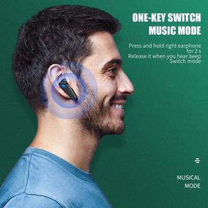 Image 4 - K 55 2021 TWS سماعة 5.0 ستيريو الكمون المنخفض الألعاب سماعة رأس بخاصية البلوتوث Type C واجهة السمعية سماعات بلوتوث سماعات