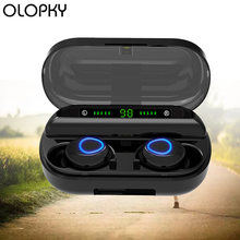 Bluetooth earphone wireless headphones gaming headset 50 noise
