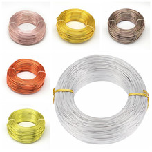 0.6/0.8/1/1.2/1.5/2/2.5/3/3.5/4/5mm Aluminium Draht Schmuck Erkenntnisse für Schmuck Machen DIY Armband Halskette