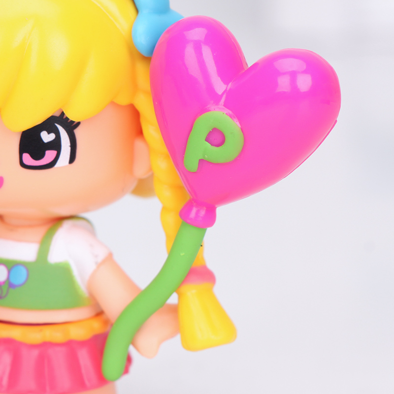 Image 4 - cute princess Pinypon dolls Detachable Kids doubleface Action Toy Figures Dolls-in Action & Toy Figures from Toys & Hobbies
