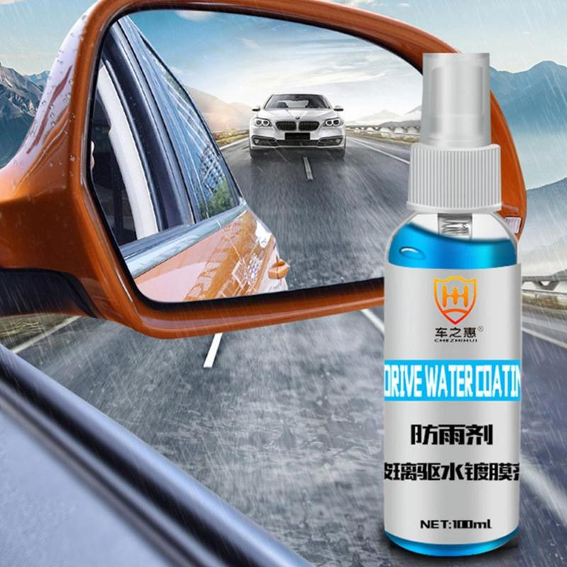 100ML Car Care Window Water Repellent Anti-rain Hydrophobic Coating Front Windshield Windscreen Mirror Glass Protective Spray