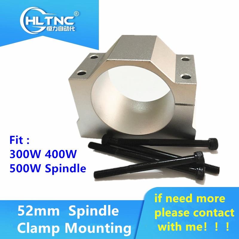 1PCS52mm Mount Bracket Spindle Fixture For ER11 300W 400W 500W DC Spindle Motor
