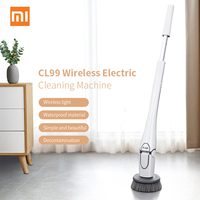 Xiaomi CL99 Multi-Function Home Wireless Electric Cleaning Machine USB Rechargeable With 3 Brush Head Kitchen From Xiaomi Youpin