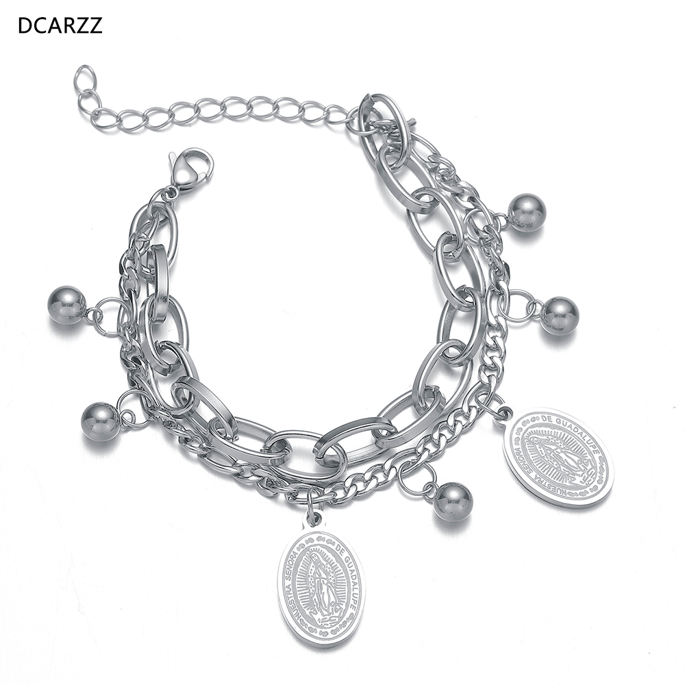 AIEDE Layered Chain Choker Pendant Necklace Chain Jewelry Set for Girls Women