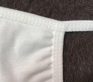 Image 4 - 12 sztuk/partia Unisex modalne bawełniane tkaniny 2 warstwy twarz usta maski ochrona przed kurzem swobodnie oddychać wielokrotnego użytku, z możliwością prania, dla dorosłych rozmiar