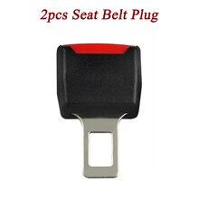 цены 2pcs Universal Auto Car Truck Safety Security Seat Belt Clip Seatbelt Safe-belt Extension Extender Buckle Plug Button Wholesale