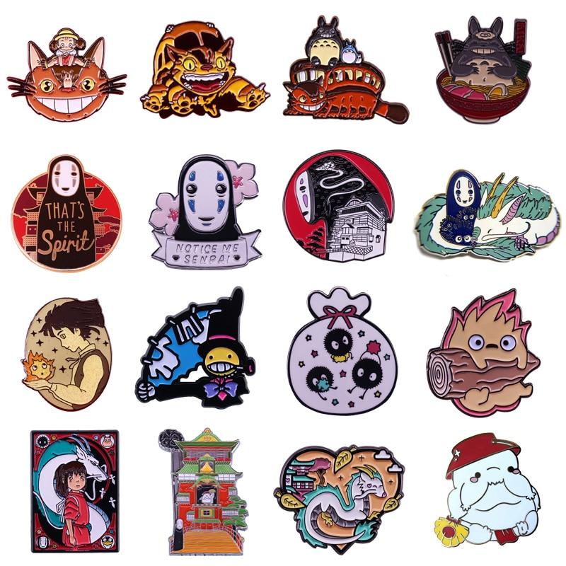 P4827 Dongmanli коллекция фигурок аниме жесткая эмалированная Булавка и броши для женщин заколка на лацкан рюкзак сумки значки детские подарки
