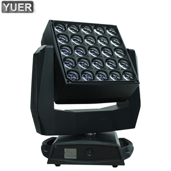 NEW 25X40W RGBW 4IN1 LED Wash Zoom Matrix Moving Head Beam Light DMX 512 DJ Disco Nightclub Party KTV Stage Professional