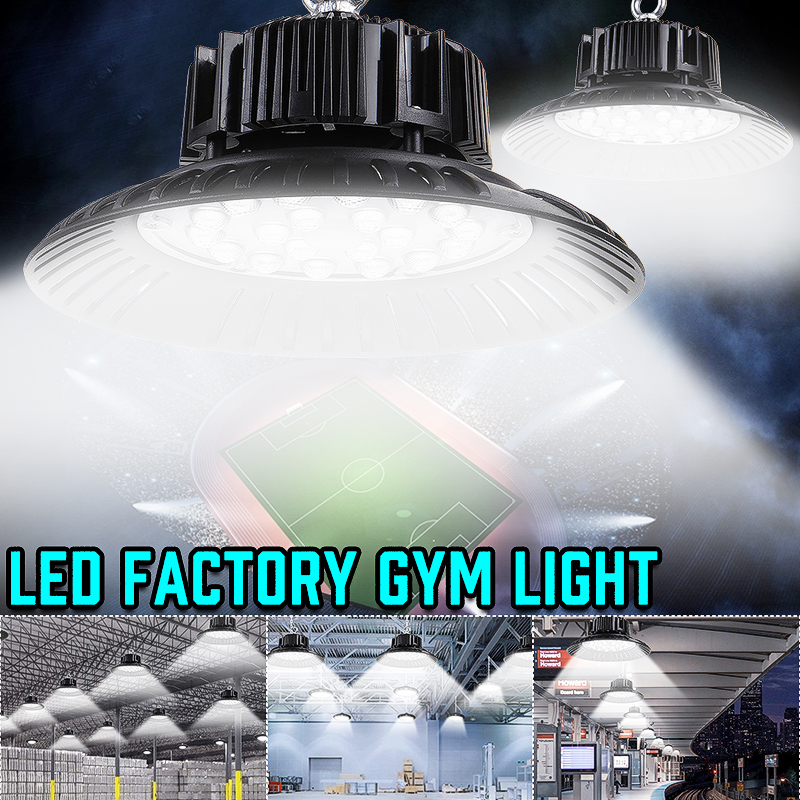 Led High Bay Light Waterproof IP65 Warehouse Workshop Garage Industrial Lamp Stadium Market Airport LED Garage Light