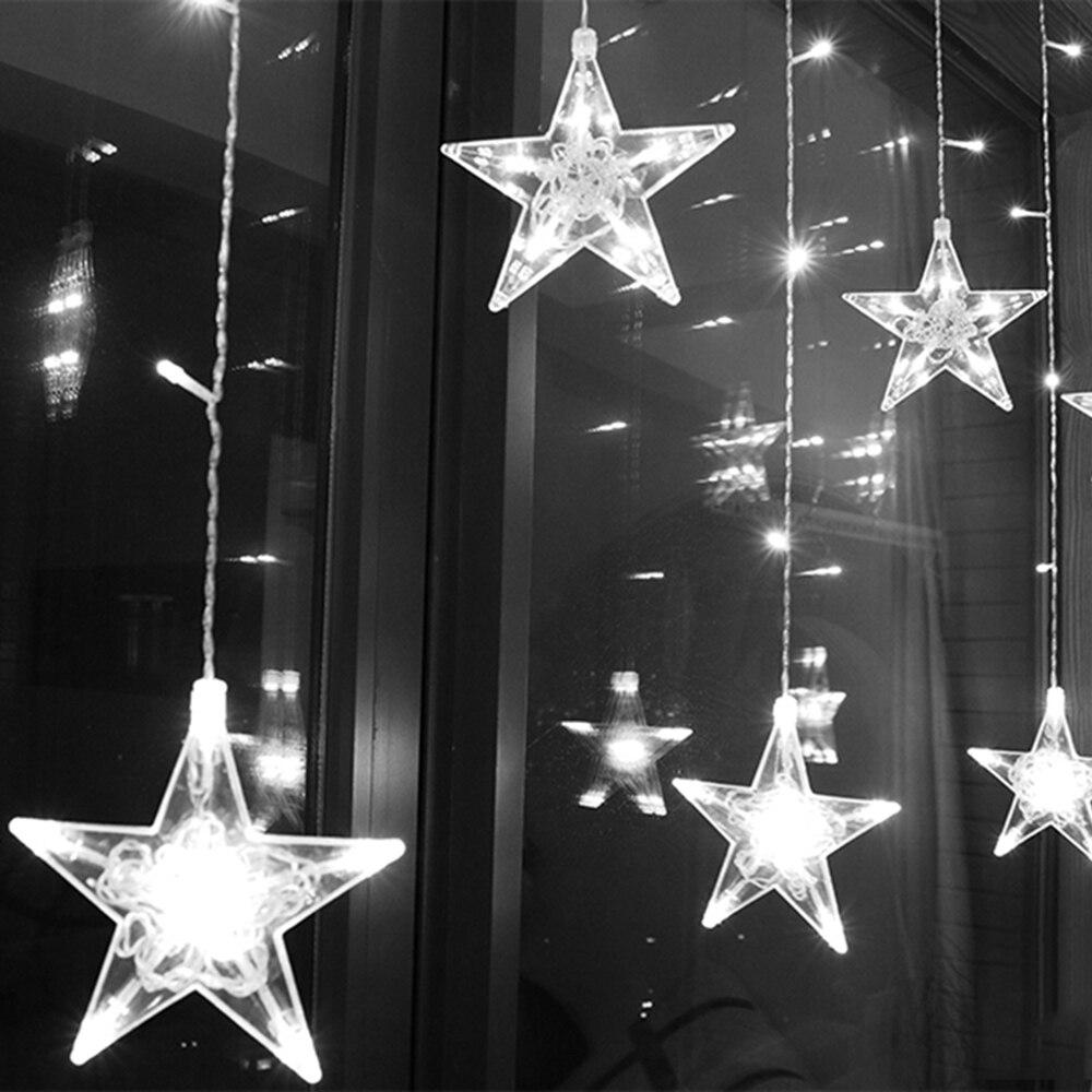 2,5 м светодиодный занавес, гирлянда на окно, 220 В, гирлянда, гирлянда для праздника, свадьбы, вечерние гирлянды, Декор