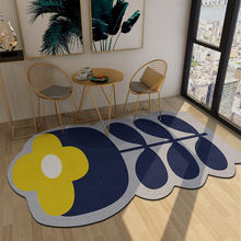 Новинка милые коврики с изображением цветов и ковров для дома