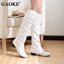 WinterWoman Shoes Boots Platform Rubber Boots Black White Lo