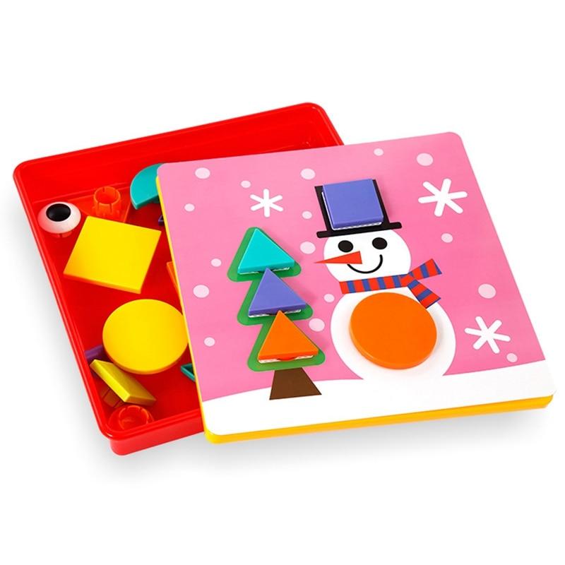 Детская интеллектуальная игрушка-головоломка для детей 1-2-3 лет, комбинация грибов для ногтей, детская игрушка в подарок