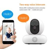 Inqmega sem fio monitor wi-fi remoto telefone doméstico armazém ultra-claro visão noturna conjunto de rede interna de cor completa webcam