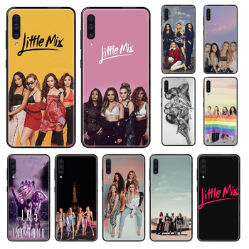 Singer Little Mix Phone case For Samsung Galaxy A 3 5 8 9 10 20 30 40 50 70 E S Plus 2016 2017 2018 2019 black luxury back image