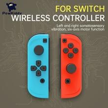 POWKIDDY 2pcs/Set Game Controller Handle For Switch Host Joy Gamepad Console Joy Dpad Gamepad Video Game USB Joystick Control