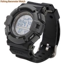 Professional Fishing Barometer Watch Waterproof Smart Watch Altimeter Thermometer 12 Hour Weather Forecast Outdoor Fishing Tools sunroad fishing barometer watch fr720a men altimeter thermometer weather forecast 50m waterproof stopwatch smart watch black