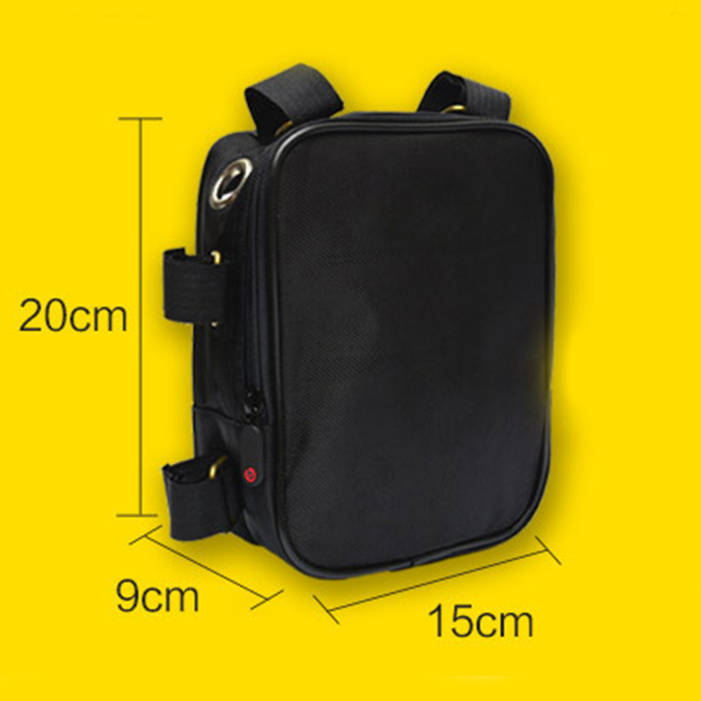 Battery Controller Frame Bag For EBike Electric Bike Hub Wheel Motor Anti-scratch Durable Practical E-bike Battery Bag