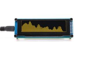 Image 4 - LINK1 OLED Music Audio Spectrum Indicator Amplifier Speed Adjustable AGC Mode 15 Level
