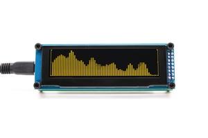 Image 4 - Link1 oled música indicador de espectro áudio amplificador velocidade ajustável agc modo 15 nível
