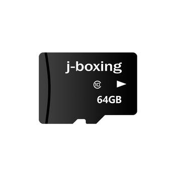 J-boxing 128GB Memory Card Class-10 TF Card 64GB Class 10 Memory High Speed Flash Card for Cell Phone Camera Tablet PC Dashcam