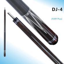 FURY DJ-4 Pool Cue Stick Kit Billiard 13mm Kamui S Tip STH Maple Shaft High-end Ebony Inlay Alloy Technology
