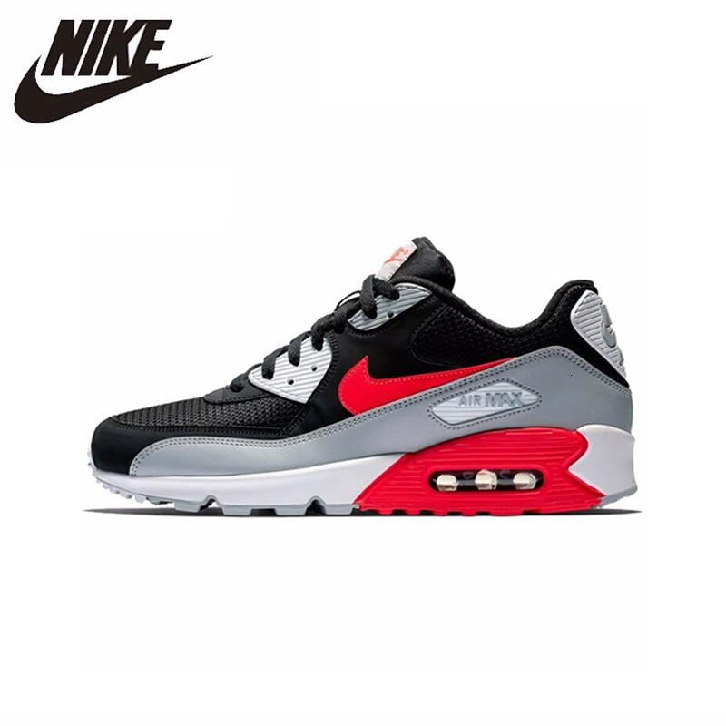 Nike Air Max 90 Original Parent-kids Shoes Air Cushion Kids Shoes Sports Children Shoes AJ1285-012