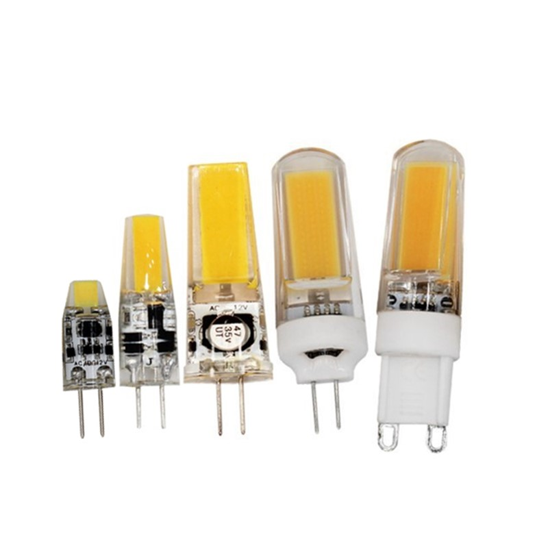 <font><b>3w</b></font> 6w 9w <font><b>G4</b></font> G9 LED Bulb lamp <font><b>12v</b></font> DC/AC 220V AC 110V AC Warm white Needle insertion light source image