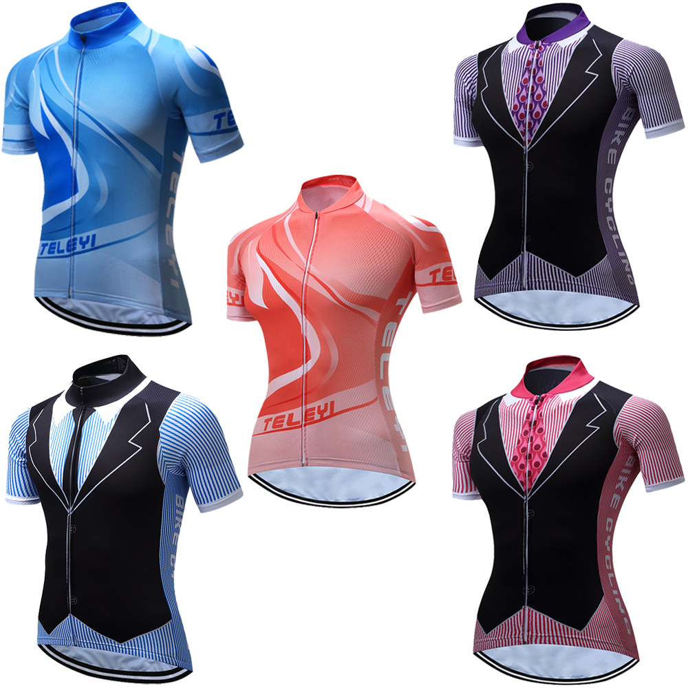 Jersey Tshirt-Bike Short-Sleeve Cycling-Clothing Triathlon Women Lovers Summer for Wears