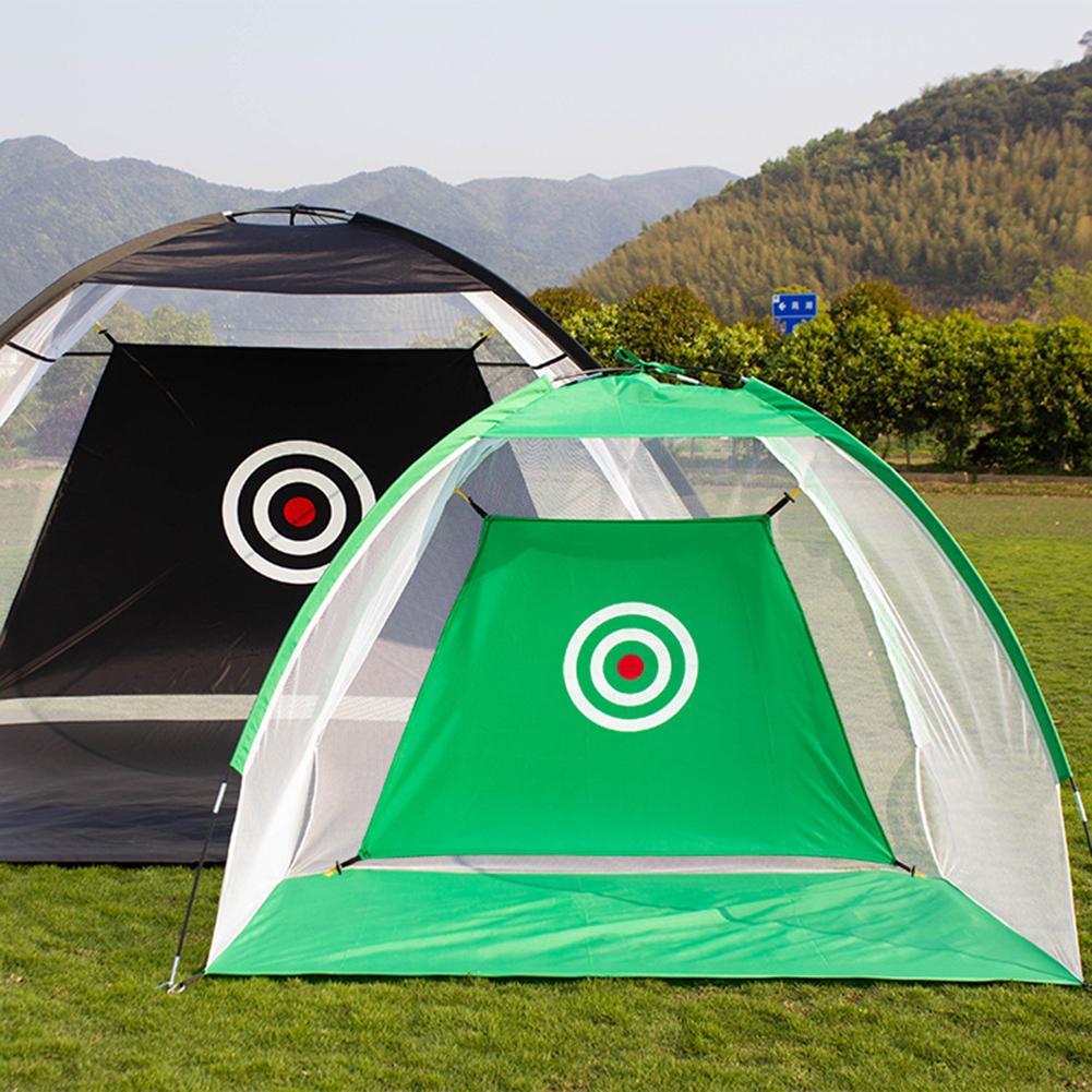 2m*1.8m*1m Indoor Outdoor Garden Grassland Folding Golf Practice Net Golf Hitting Cage Tent Golf Training Equipment