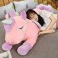 Новые подушки для дивана, красочные мягкие игрушки в виде единорога, куклы, подарки на день Святого Валентина