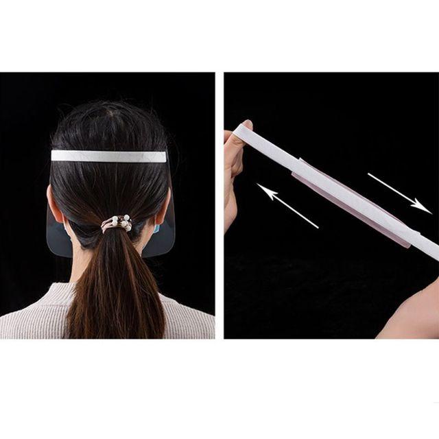 All-Purpose Face Shield Transparent Anti-saliva Anti-spitting Protective Mask 4