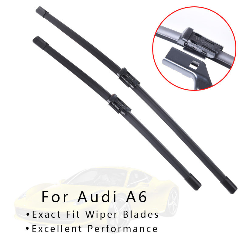 Winshield Wipers Blade For Audi A6  C5 / C6 / C7 from 1997 1998 1999 2000 to 2017  windscreen wiper car Accessories wholesale
