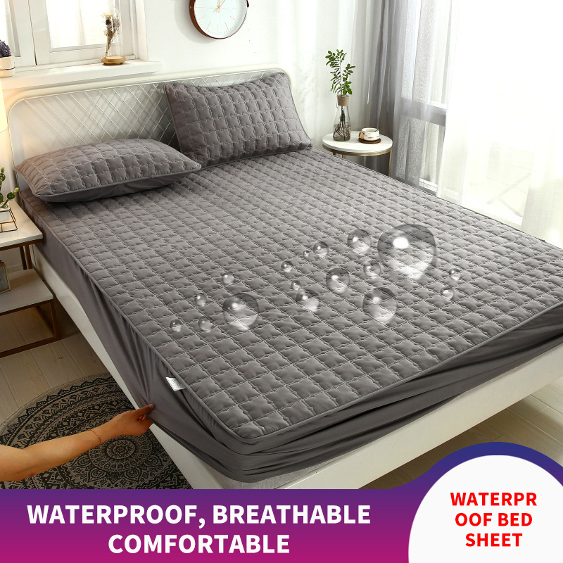 Waterproof Bed Mattresses Cover Washable Bed Cover Multicolor Thickened  Waterproof Mattress Protector Flat Mattress Cover