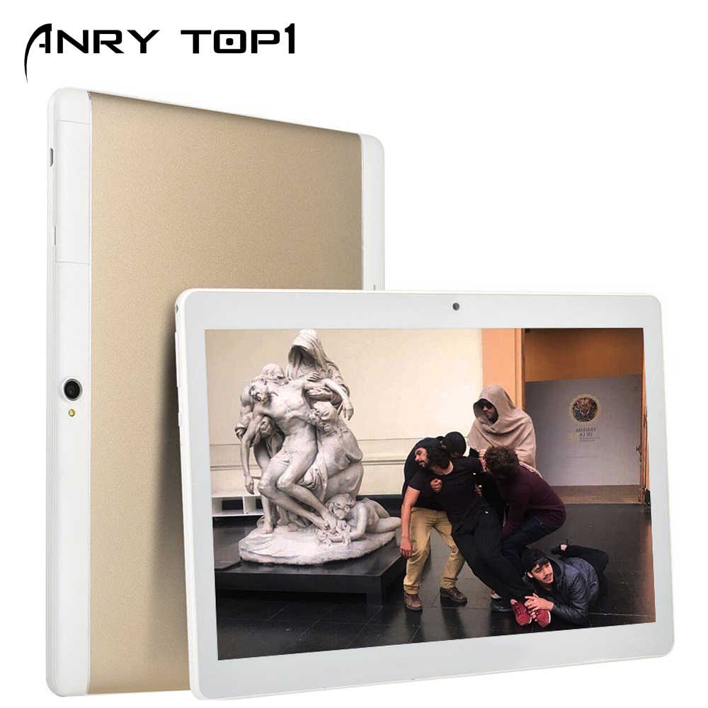 Quad Core 10.1 Inci Kartu Tablet PC 3G Panggilan Telepon Mobile 4 GB RAM Android Tablet PC 32 GB ROM IPS 1280*800 Anry 101