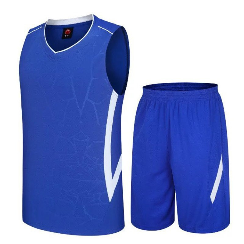 Children Teenager Clothing BOY'S Summer Short-sleeved Quick-Dry Basketball Wear Athletic Clothing Fat Play Sleeveless Vest Short