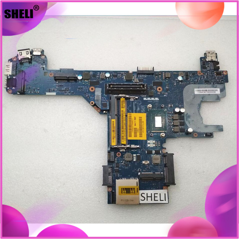 SHELI CN-0GCHTD 0GCHTD GCHTD For Dell E6430s Motherboard with <font><b>I5</b></font>-<font><b>3340M</b></font> LA-7741P image
