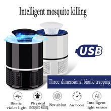 Photocatalyst Mosquito Killer Usb Household Mosquito Killer LED Mosquito Killer Mosquito Lamp D30 3 in 1 multifunctional air purifier with activated carbon photocatalyst ozone mosquito killer purifiers air cleaning household