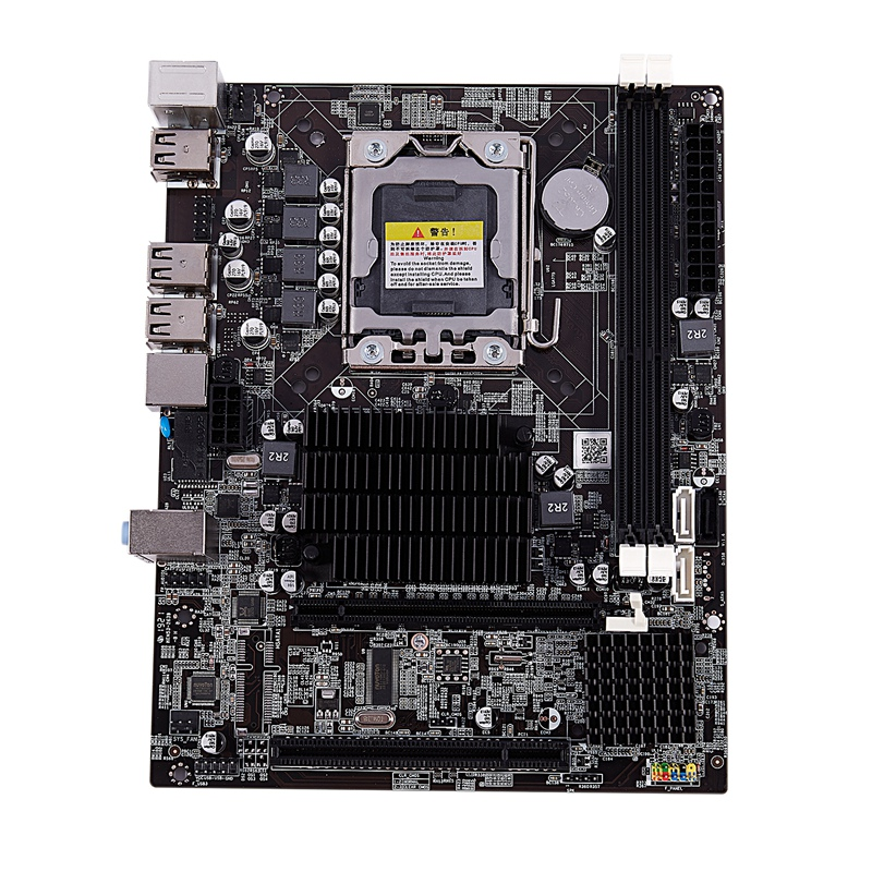 New X58 Desktop Motherboard Lga 1366 Professional Desktop Stable Practical Ddr3 Motherboard For L/E5520 X5650 Recc