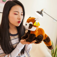 35cm High Quality Simulation Red Panda Plush Toys Stuffed Animal Toy Lifelike Soft Lesser Panda Plush Dolls For Kids Gifts