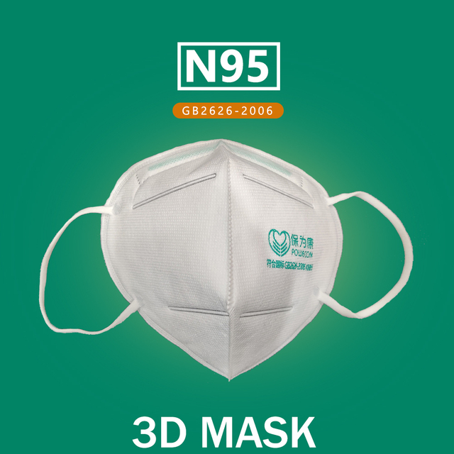 10Pcs/Lot 6 Layers KN95 Face Masks 95% Filtration KN95 Masks Features 3D Mask Flu Anti Infection Virus Bacterial Adult Face Mask 2