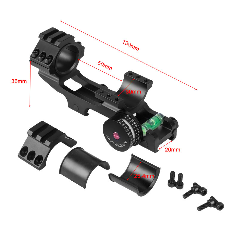 scope monta com angulo bolha nivel 1 05