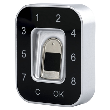 G12 Drawer Password Fingerprint Lock Anti-Theft Privacy Protection Fingerprint Password Lock Safety Shoe Lock File Lock Jewelry