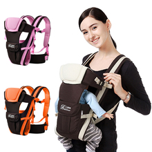 цена на Newborn 0-36 Months Breathable Front Facing Baby Carrier 4 in 1 Infant Comfortable Sling Backpack Pouch Wrap Baby Kangaroo New